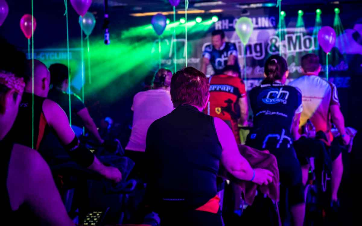 Indoor Cycling Events buchen